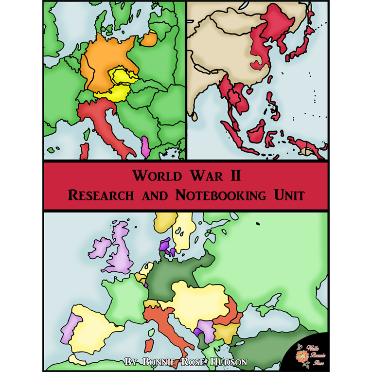 World War II: Research and Notebooking Unit (e-book)