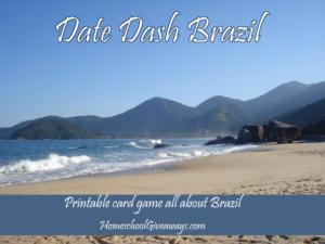 Date Dash Brazil—Brazilian History Game