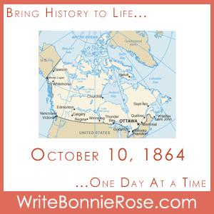 Timeline Worksheet: October 10, 1864, The Quebec Conference Begins