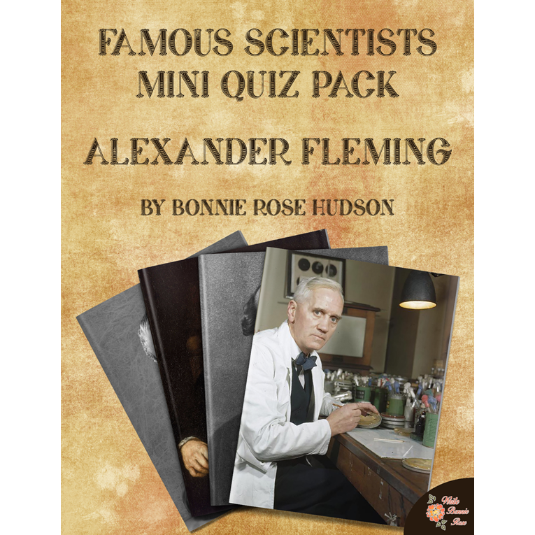 Famous Scientists Mini Quiz Pack: Alexander Fleming (e-book)