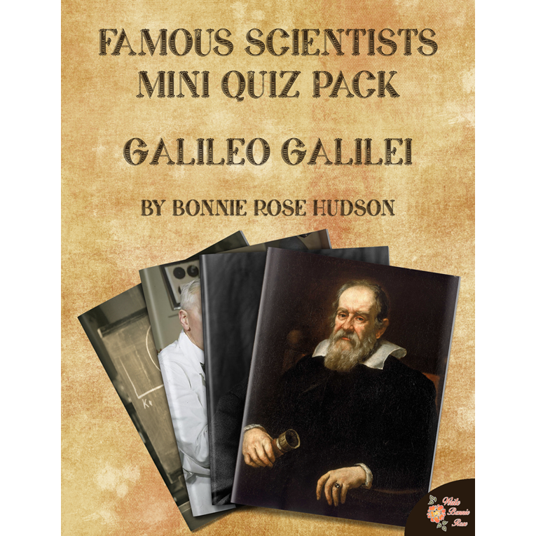 Famous Scientists Mini Quiz Pack: Galileo Galilei (e-book)