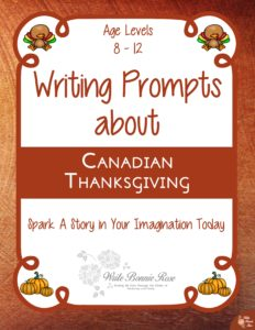 Writing Prompts About Canadian Thanksgiving