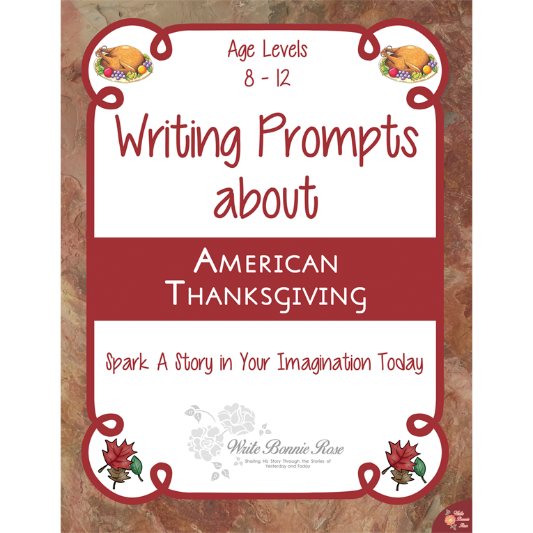 Writing Prompts About American Thanksgiving (e-book)