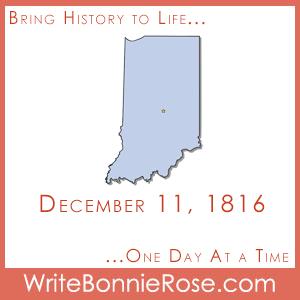 Timeline Worksheet: December 11, 1816, Indiana Statehood