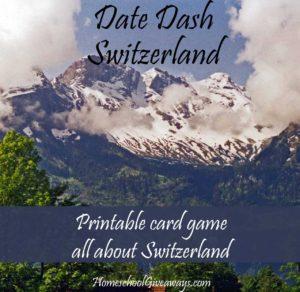 Date Dash Switzerland—Swiss History Game