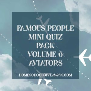 FREE Famous People Mini Quiz Pack Volume 6 – Aviators