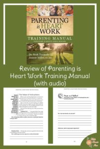 Parenting is Heart Work Training Manual-A Review