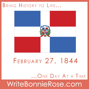 Timeline Worksheet: February 27, 1844, Dominican Republic Becomes Independent
