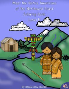 Meet the Native Americans of the Northwest Coast Coloring Book-Level B