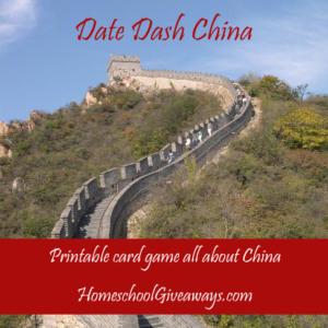 Date Dash China—Chinese History Card Game