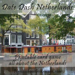 Date Dash Netherlands—Dutch History Card Game
