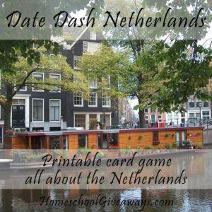 Date Dash Netherlands—Dutch History Card Game