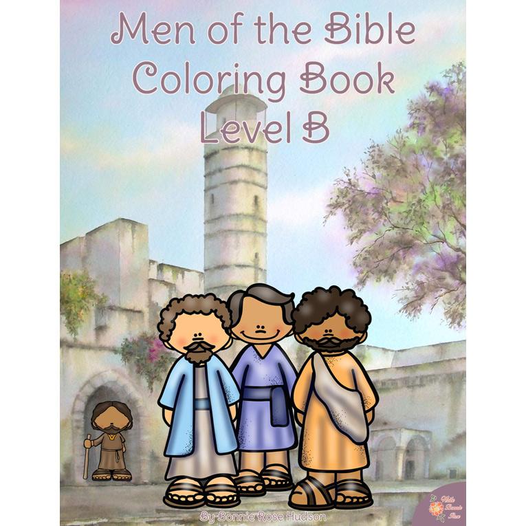 Men of the Bible Coloring Book-Level B (e-book)