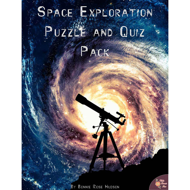 Space Exploration: Puzzle and Quiz Pack (e-book)