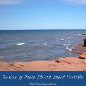 FREE Timeline of Prince Edward Island History
