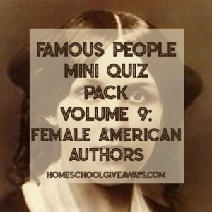 FREE Famous People Mini Quiz Pack Volume 9 – Female American Authors