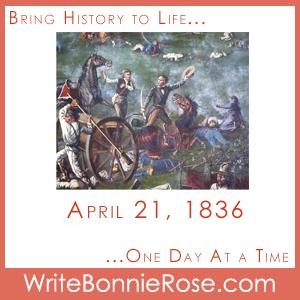 Timeline Worksheet: April 21, 1836, Battle of San Jacinto