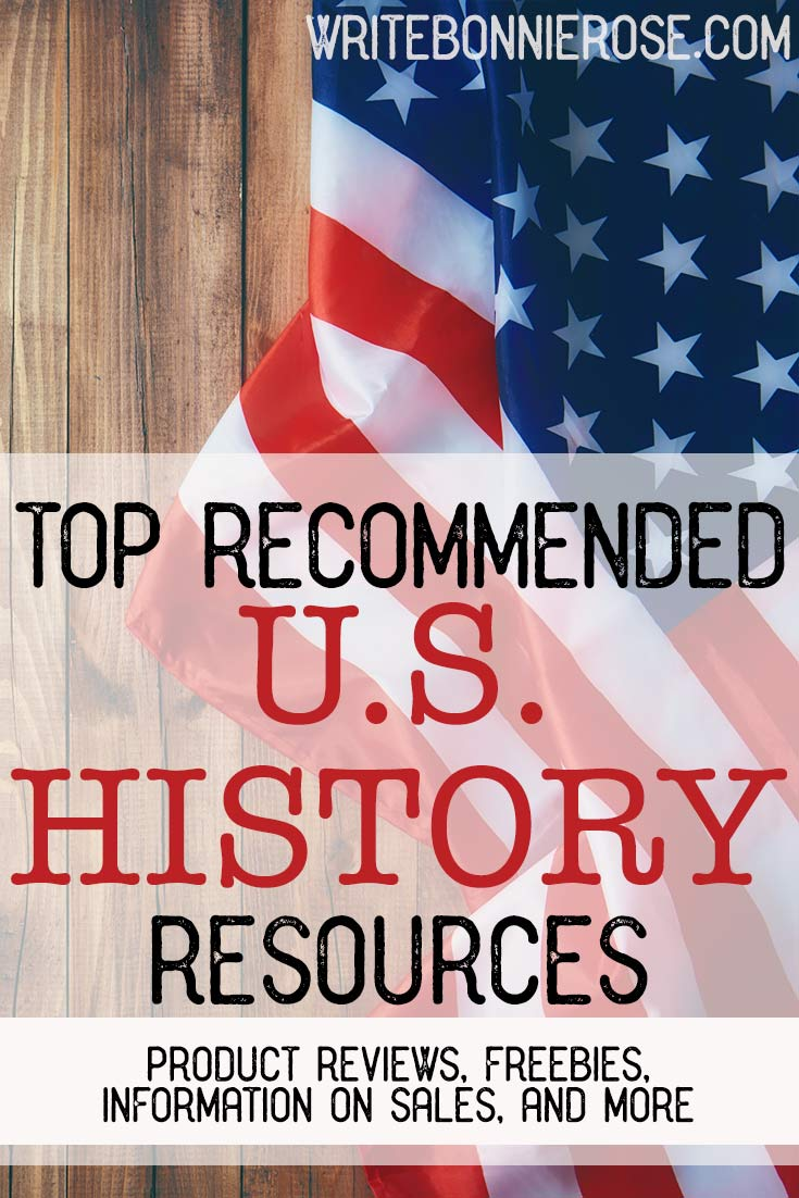 Recommended US History Resources and Freebies