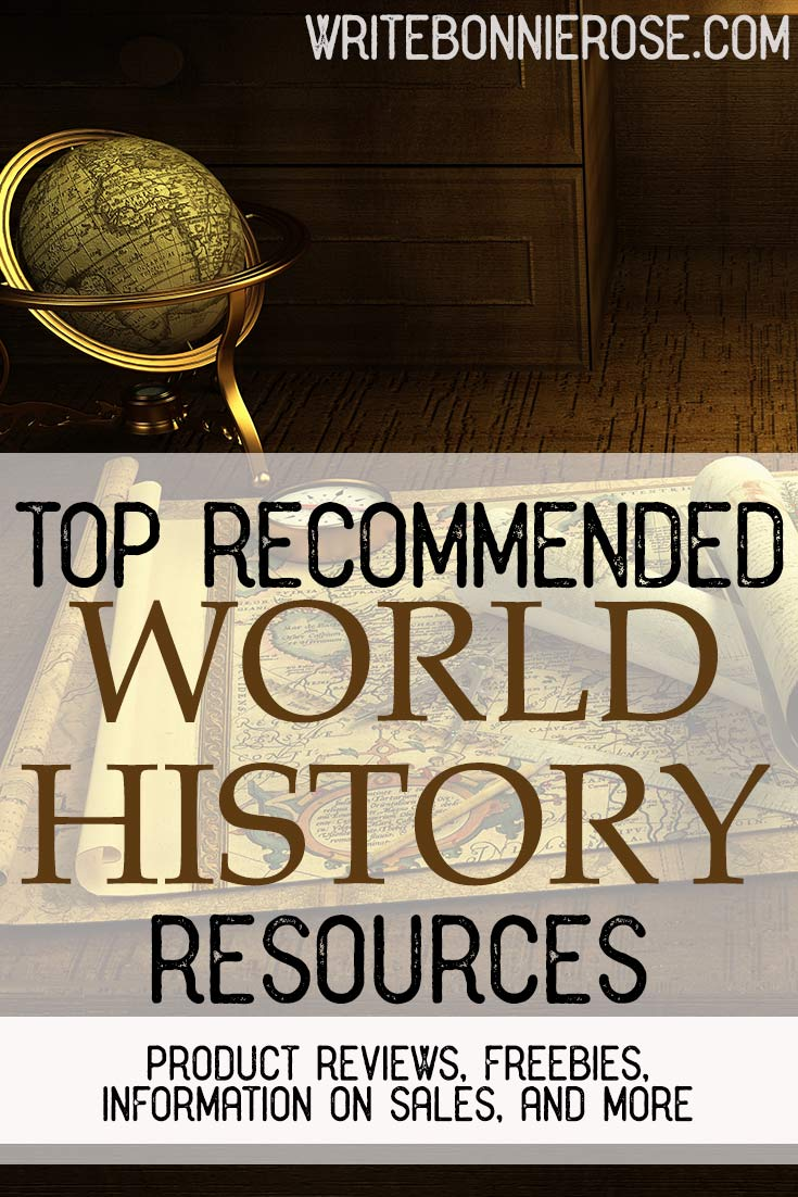 Recommended World History Resources and Freebies