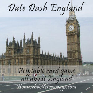 Date Dash England – English History Card Game