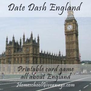 Date Dash England – English History Card Game