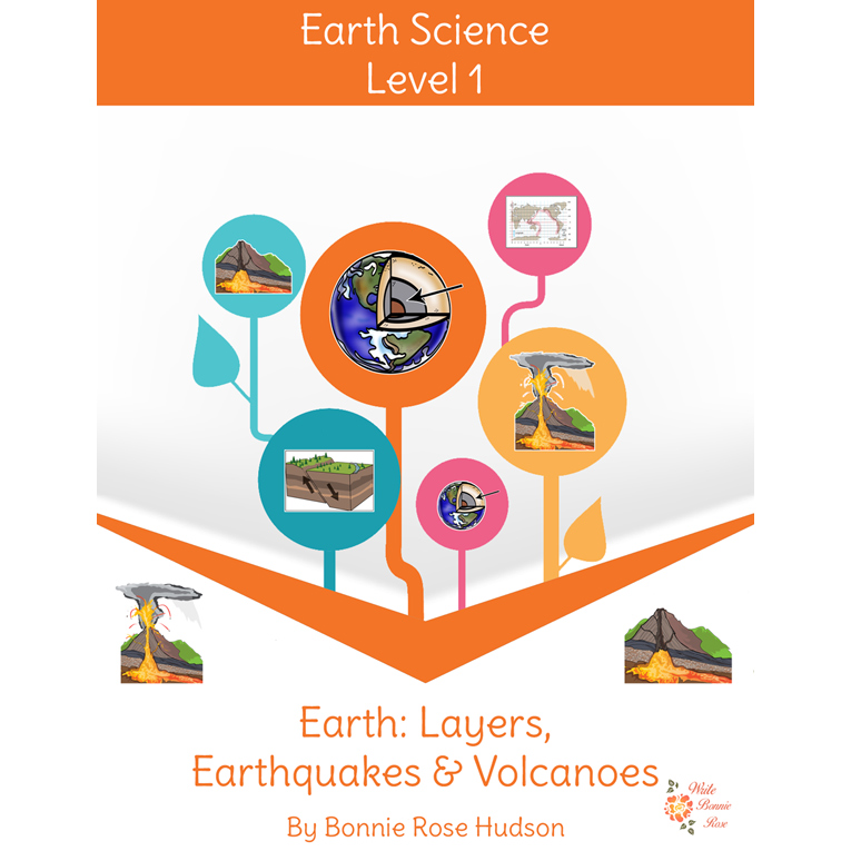 Earth: Layers, Earthquakes, and Volcanoes-Learning About Science, Level 1 (e-book)