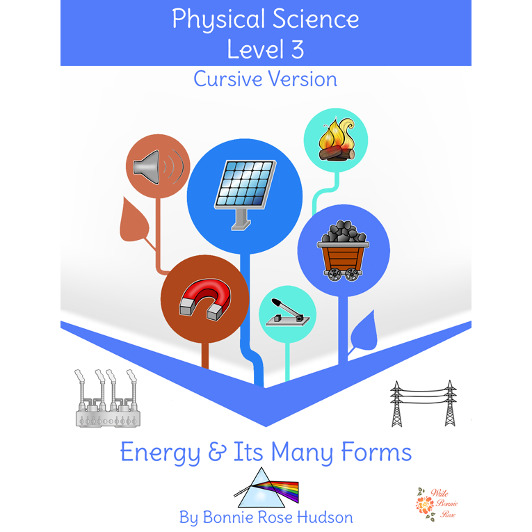 Energy and Its Many Forms-Learning About Science Level 3 Cursive Version (e-book)