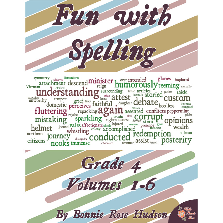 Fun with Spelling Grade 4, Volumes 1-6 (e-book)