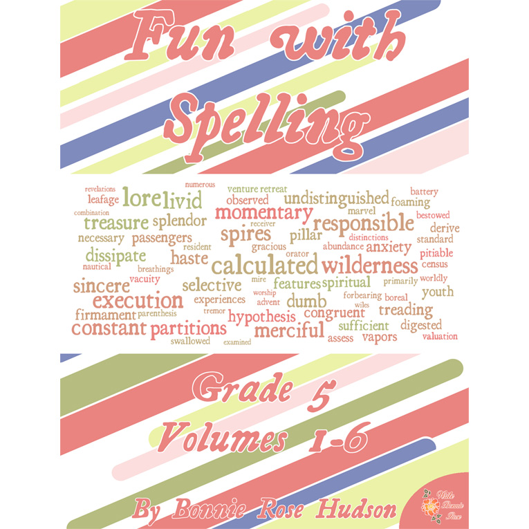 Fun with Spelling Grade 5, Volumes 1-6 (e-book)