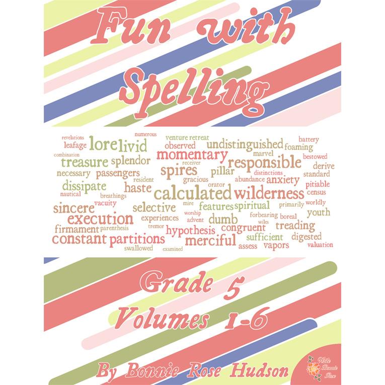 Fun with Spelling Grade 5, Volumes 1-6 (e-book)
