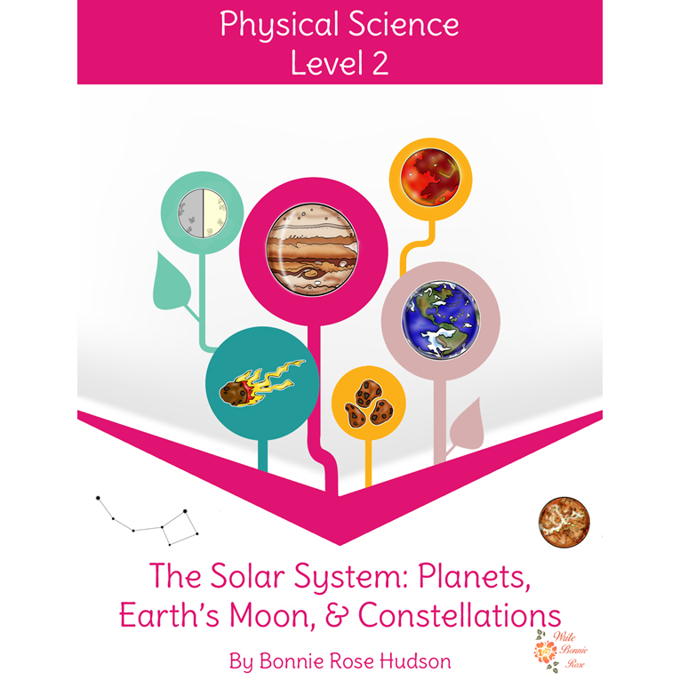 The Solar System: Planets, Earth's Moon, and Constellations-Learning About Science Level 2 (e-book)