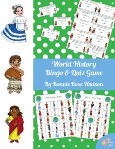 World History Bingo & Quiz Game