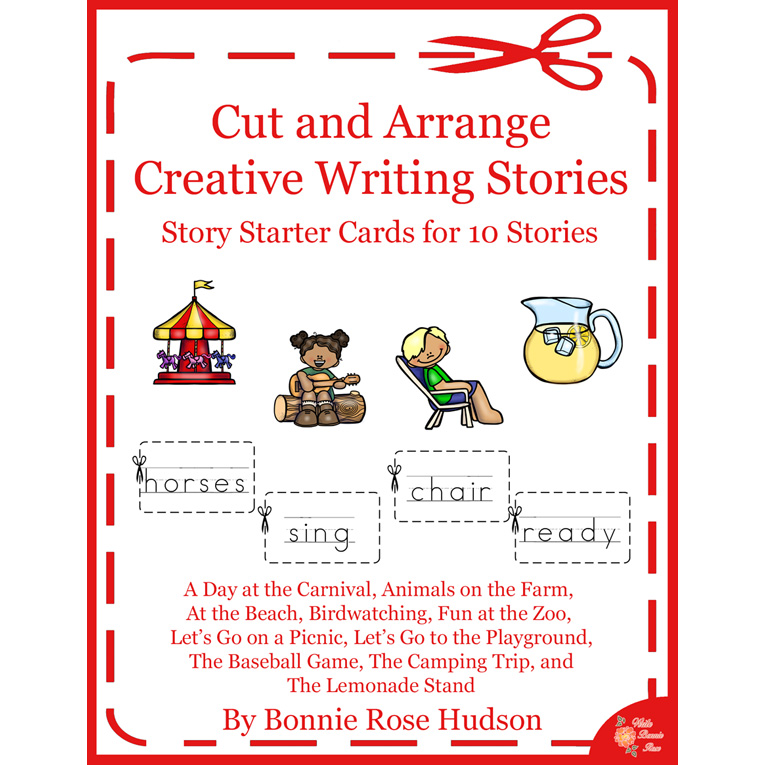 Cut and Arrange Stories-Set of 10 Story Starters (e-book)