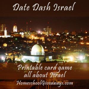 Date Dash Israel – Israeli History Card Game