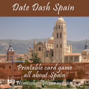 Date Dash Spain – Spanish History Card Game