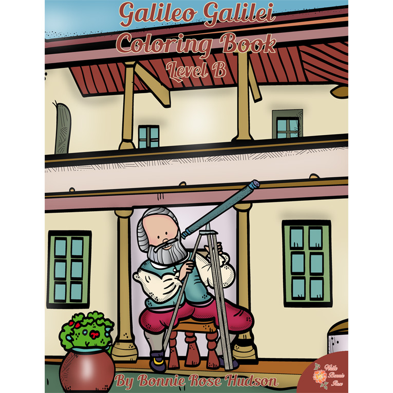 Galileo Galilei Coloring Book Level B (e-book)