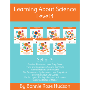 Learning About Science Level 1 Bundle a