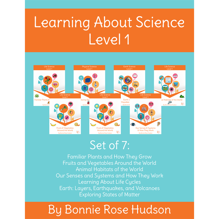 Learning About Science Collection, Level 1 (e-book)