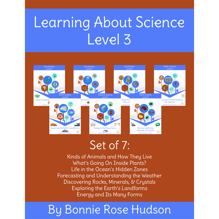 Learning About Science Collection, Level 3 Cursive Version (e-book)