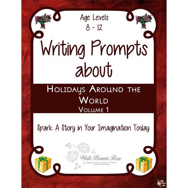 Writing Prompts About Holidays Around the World, Vol. 1 (e-book)