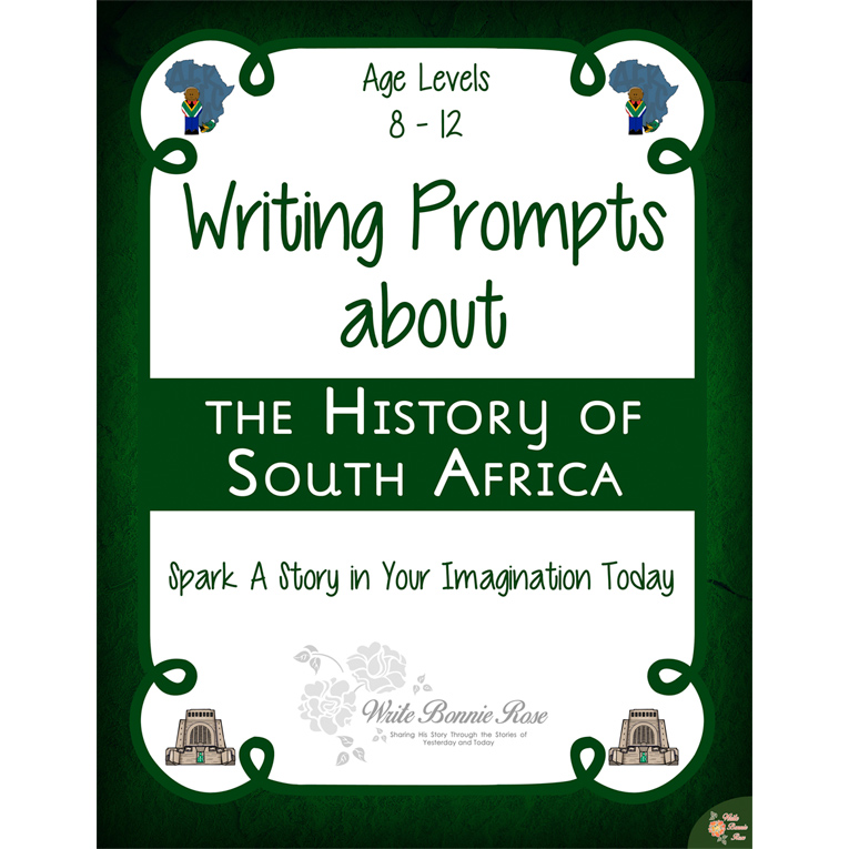 Writing Prompts About the History of South Africa (e-book)