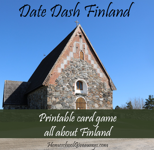 Date Dash Finland – Finnish History Card Game