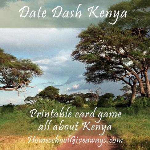 Date Dash Kenya – Kenyan History Card Game