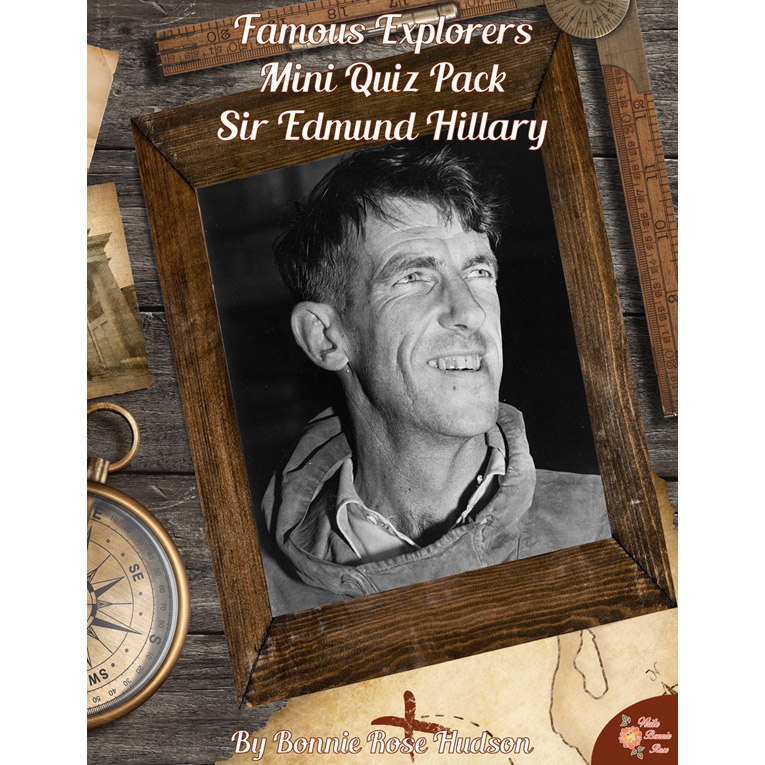 Famous Explorers Mini Quiz Pack: Sir Edmund Hillary (e-book)