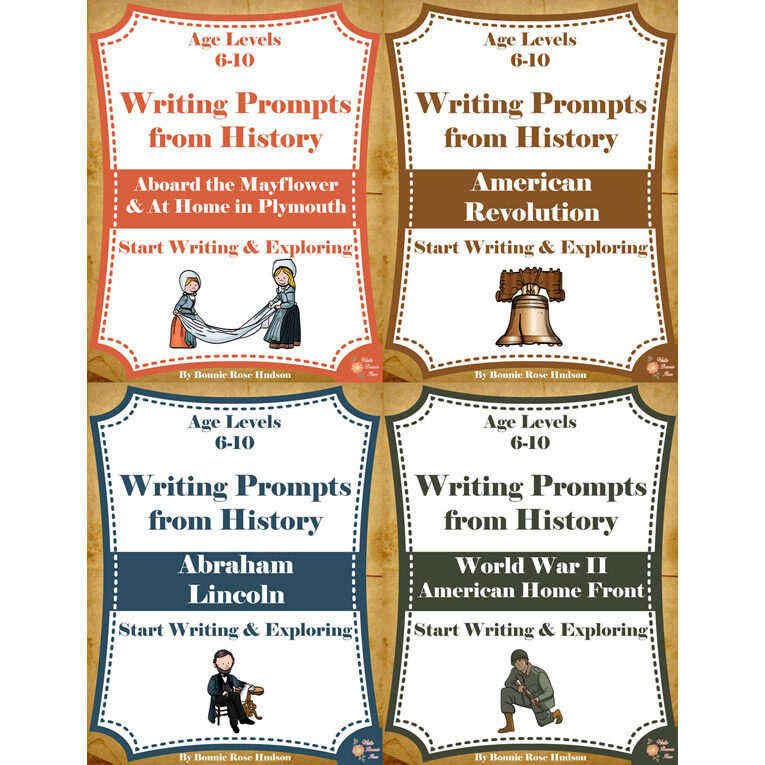 Writing-Prompts-History-6-10-American-History-Bundle-Cover-for-WBR