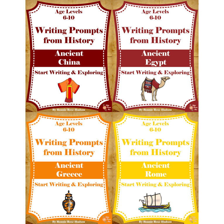 Writing-Prompts-History-6-10-Ancient-History-Bundle-Cover-for-WBR