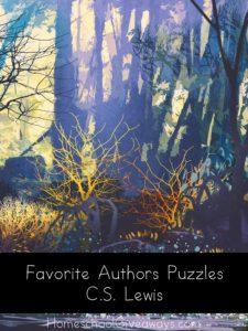 FREE Favorite Authors Puzzles-C.S. Lewis