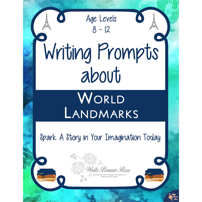 Writing Prompts About World Landmarks (e-book)