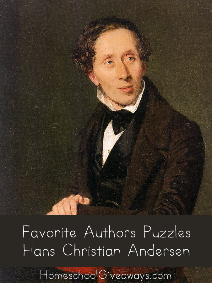 FREE Favorite Authors Puzzles-Hans Christian Andersen