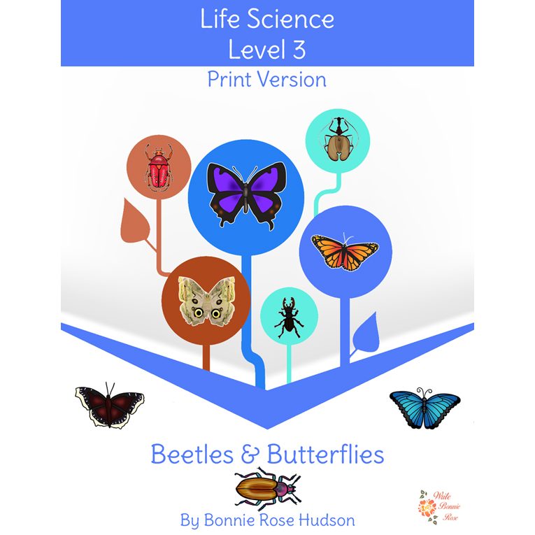 Beetles and Butterflies-Learning About Science, Level 3 Print Version (e-book)